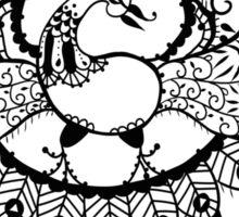 Peacock#1 Sticker