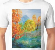 Blue Autumn Unisex T-Shirt