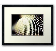 A sieve for your kitchen...Got Featured Work Framed Print