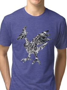 Skarmory used steel wing Tri-blend T-Shirt