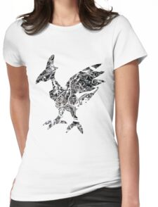 Skarmory used steel wing Womens Fitted T-Shirt