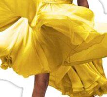 Taylor's flowy dress  Sticker