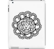 Art Deco Floral Mandala iPad Case/Skin