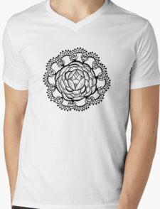 Art Deco Floral Mandala T-Shirt