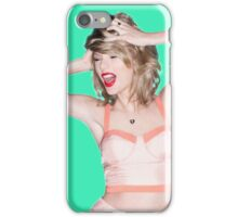 Crazy Hair Taylor Swift iPhone Case/Skin