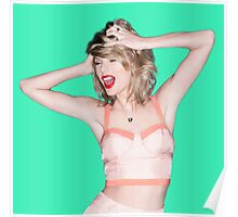 Crazy Hair Taylor Swift Poster