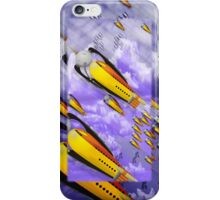 space ship invasion iPhone Case/Skin