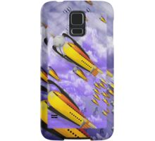 space ship invasion Samsung Galaxy Case/Skin