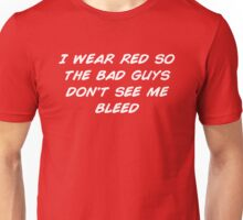 I Wear Red Unisex T-Shirt
