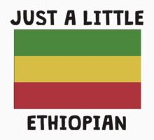Just A Little Ethiopian One Piece - Short Sleeve