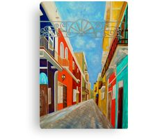 Old San Juan Canvas Print
