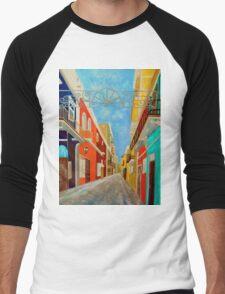 Old San Juan Men's Baseball ¾ T-Shirt