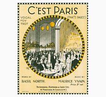 C'EST PARIS (vintage illustration) Unisex T-Shirt