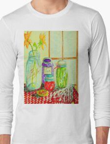 Kitchen Light Dancing Long Sleeve T-Shirt