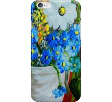 Flowers in a White Vase iPhone Case/Skin