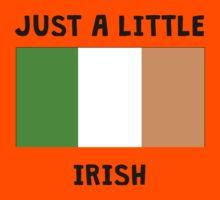 Just A Little Irish Kids Tee
