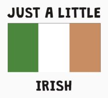 Just A Little Irish Kids Tee