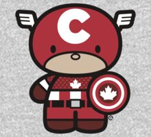 Chibi-Fi Captain Canada One Piece - Long Sleeve