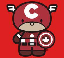 Chibi-Fi Captain Canada Baby Tee