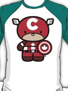Chibi-Fi Captain Canada T-Shirt