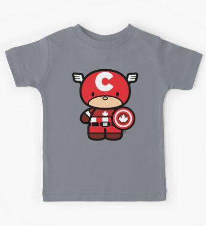 Chibi-Fi Captain Canada Kids Tee