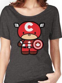 Chibi-Fi Captain Canada Women's Relaxed Fit T-Shirt