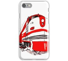 Watch for Trains iPhone Case/Skin