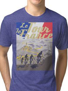Le Tour de France retro poster Tri-blend T-Shirt