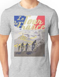 Le Tour de France retro poster Unisex T-Shirt
