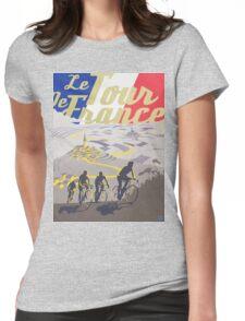 Le Tour de France retro poster Womens Fitted T-Shirt