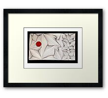 Freehand Abstract Framed Print
