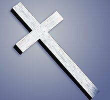 Wooden Cross by Roger Otto