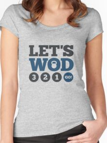 Let's WOD Women's Fitted Scoop T-Shirt