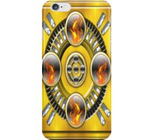Steel and Fire .. iphone case iPhone Case/Skin