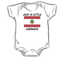 Just A Little Lebanese One Piece - Short Sleeve