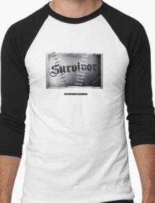 DXR-Survivor Men's Baseball ¾ T-Shirt