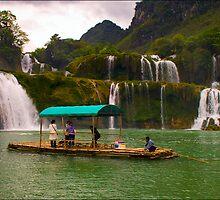Ban Doc Waterfall, Vietnam by Karl Willson