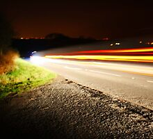 Car Lights by Ant Parkes