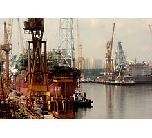 Harbour side Photographic Print