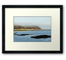 Peaceful Ocean Scene Framed Print