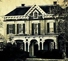 The haunted house 'round the corner by Scott Mitchell
