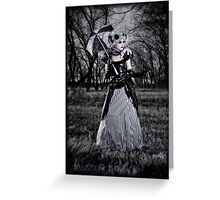 Dead Forest II Greeting Card