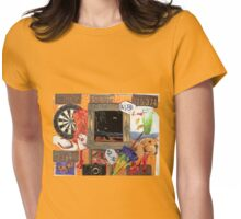 Garage Sale Womens Fitted T-Shirt