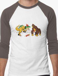 Boss vs Kong Men's Baseball ¾ T-Shirt