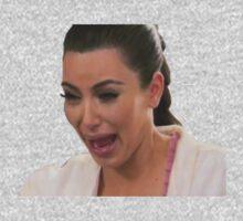 Kim Kardashian Crying One Piece - Short Sleeve