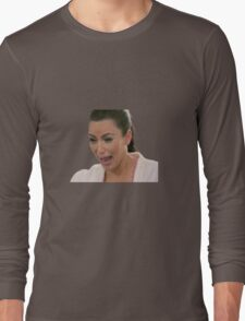 Kim Kardashian Crying Long Sleeve T-Shirt