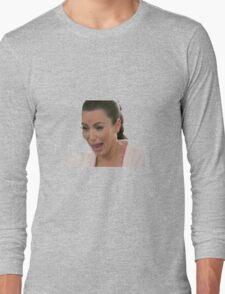 Kim Kardashian Crying Long Sleeve T-Shirt