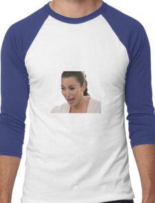 Kim Kardashian Crying Men's Baseball ¾ T-Shirt
