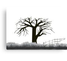 Tree in Seasons - 1 Canvas Print