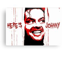 Here's Johnny Metal Print